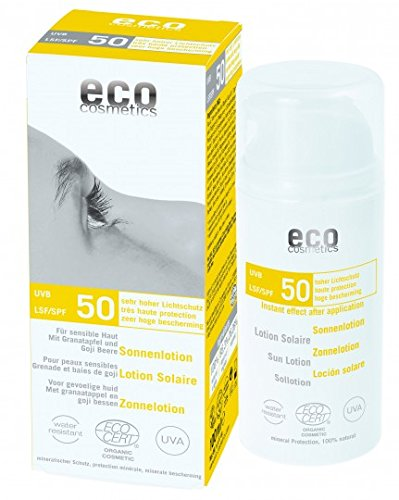 eco cosmetics Sonnenlotion LSF50 100ml