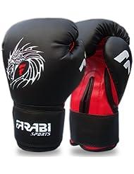 Farabi Sports - Guantes de boxeo de piel Talla:14-OZ