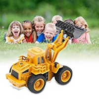 Oyunngs Remote Control Excavator Truck Digger Toys, RC Crane Mini Engineering Construction Vehicle with Transmitter, Gift for Boys Girls Kids Adults