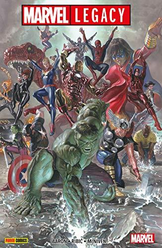 Marvel Legacy (Marvel Paperback) (Captain Marvel America-ms)