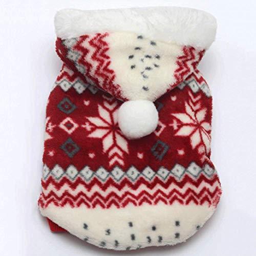 CXXX Haustierkleidung, Haustiermantel, Herbst und Winter, Weihnachten (Niedlich Wie Eine Knopf Kostüm)