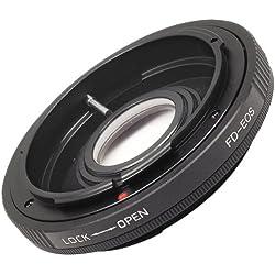 Bague d'adaptation objectif pour Canon FD FL EOS 7D 5D Mark II 60D T2i 50D 550D 500D 600D 1000D 1100D DC263