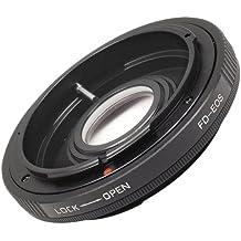 Adaptador de lentes para Canon FD FL a EOS 7D 5D Mark II 60D T2i 50D 550D 600D 1100D DC263