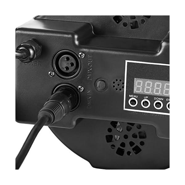 Neewer 10pz Cavo Filo DMX per Illuminazione da Palcoscenico Lunghezza 2 Metri con Connettori a 3 Pin XLR Maschio a Femmina per Luci Movibili Spotlight con XLR Input & Output