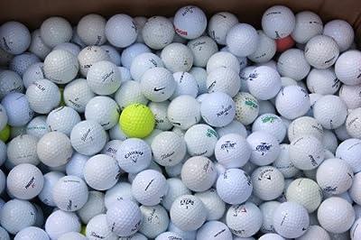 100 LAKEBALLS Golfbälle gebraucht