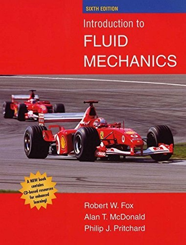 Introduction to Fluid Mechanics by Robert W. Fox (2003-07-23)