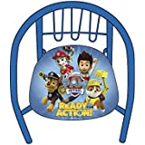 Arditex pw9649licencia la Pat Patrouille silla para niño Metal azul 35,5x 30x 33,5cm)
