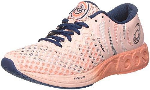 Asics Noosa Ff 2, Zapatillas de Entrenamiento para Mujer, Rosa (Seashell Pink/Dark Blue/Begonia 1749), 38 EU