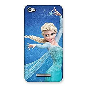 Special Freezing Princess Multicolor Back Case Cover for Micromax Hue 2