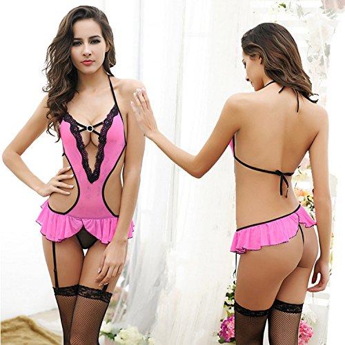 c9cfabd64012 Aa Enterprises Sexy Honeymoon Lingerie For Women   Ladies and Girls  Nightwear Net Babydoll Dress Sleepwear