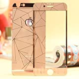 Best 4s Screen Protectors - Zocardo 3D Diamond Mirror Front Back Tempered Glass Review