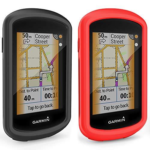 TUSITA Hülle für Garmin Edge Explore GPS - Silikon schutzhülle Skin - Zubehör für Touchscreen Bike Computer (2-Pack)