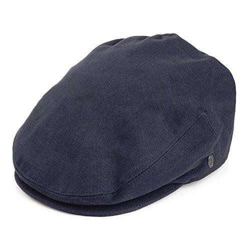 ermütze aus Baumwolle - Marineblau - XXL (Herren Sommer Newsboy Hüte Xxl)
