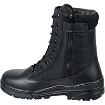 Savage Island Leather Side Zip Army Patrol Tactical Action Combat Boots