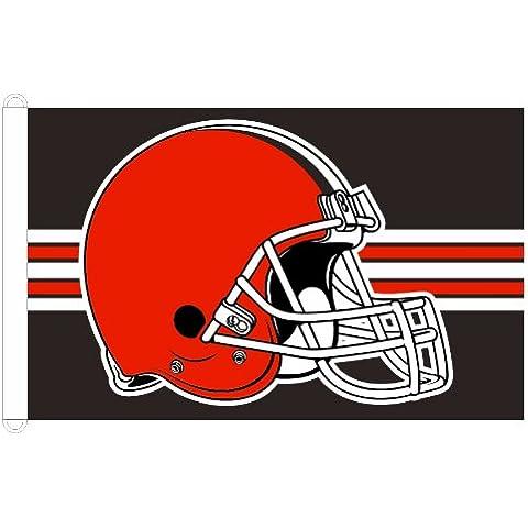 Cleveland Browns 91,44 cm x 152,4 cm bandera