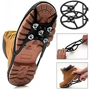 PROMO Crampons randonnées chaussure anti glisse taille 34-39