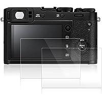 Films de Protection d'Ecran pour Fujifilm X100F, AFUNTA Lot de 2 Protecteurs Imperméables en Verre Trempé Optique pour Caméra Digital DSLR