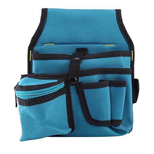JingHai Electrician Tools Bag Screwdriver Utility Tool Holder Carpenter Tool Bag Waist Pocket Bag Tool Belt Pouch Bag Drill Hammer - Drill-pouch