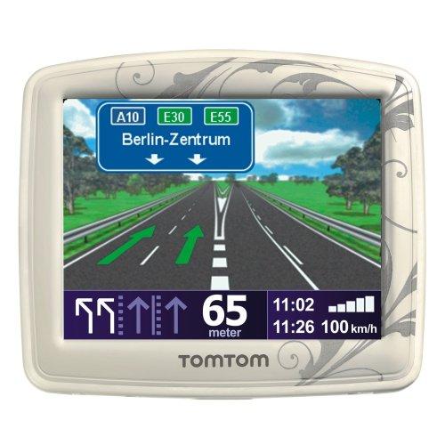 TomTom White Pearl Sonderedition Navigationsgerät (Europa, Fahrspurassistent, Text-To-Speech, intelligente Routenführung, TMC-fähig)