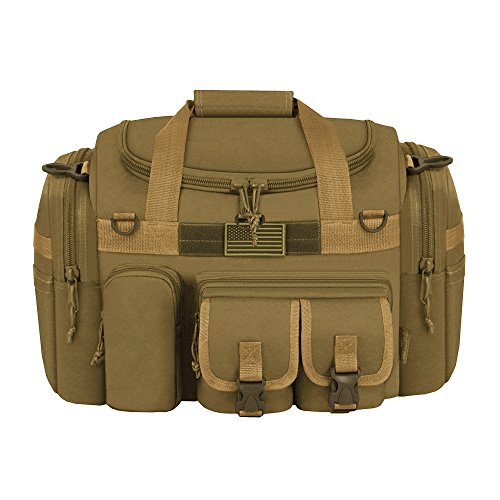 East West USA Tactical Outdoor Multi Taschen Heavy Duty 45,7cm Duffel Bag hautfarben