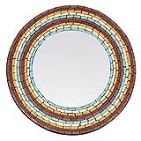 Spiegel, rund, Mosaik Chique
