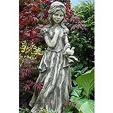 Vidroflor Gartenfigur | Gebrüder Grimm SCHNEEWITTCHEN | B/H: 35/80 cm | 50 kg | aus massivem Steinguss