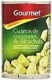 Gourmet Cuartos de Corazones de Alcachofa - 240 g