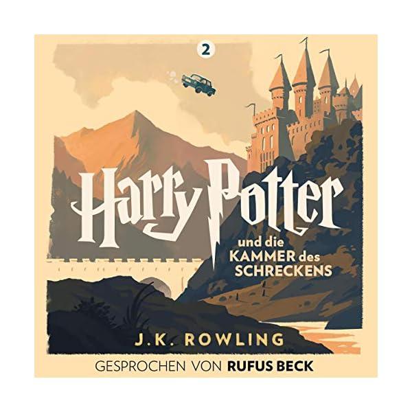 Harry Potter und die Kammer des Schreckens – Gesprochen von Rufus Beck: Harry Potter 2