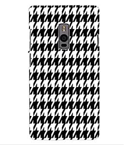 ColourCraft Beautiful Pattern Design Back Case Cover for ONEPLUS TWO