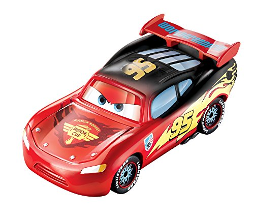 Image of Disney/Pixar Cars, Color Changers, Lightning McQueen [Red to Black] Vehicle