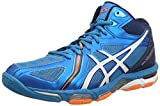 ASICS Herren Gel-Volley Elite 3 Mt Sneakers, Blau Blue/White/hot Orange, 45 EU