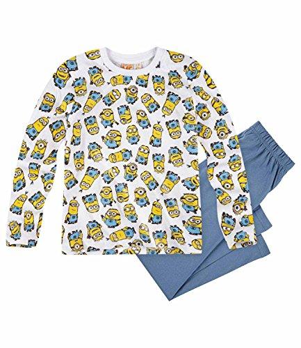 Minions Despicable Me Jungen Pyjama Schlafanzug 2016 Kollektion (128, Blau)