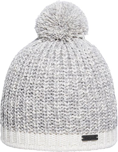 Eisglut Patti Mütze, Silber Mel, one size - Alpaka Knit Hat