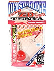 Decoy OS-1R Zero Dan Tenya Red Size 12 45 grams (4010)