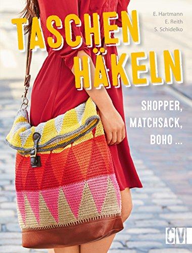 Taschen häkeln: Shopper, Matchsack, Boho ...