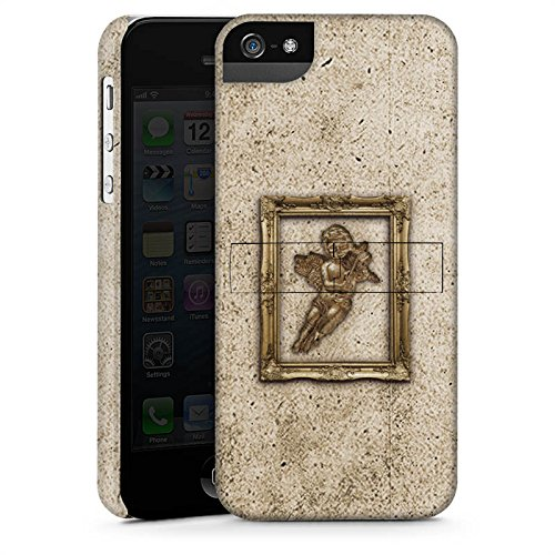 Apple iPhone X Silikon Hülle Case Schutzhülle Engel Angel Gemälde Premium Case StandUp
