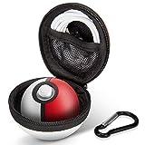 Keten Custodia per Poké Ball Plus, Custodia da Viaggio Portatile Rigida Protettivaper Controller Poké Ball Plus Nintendo Switch