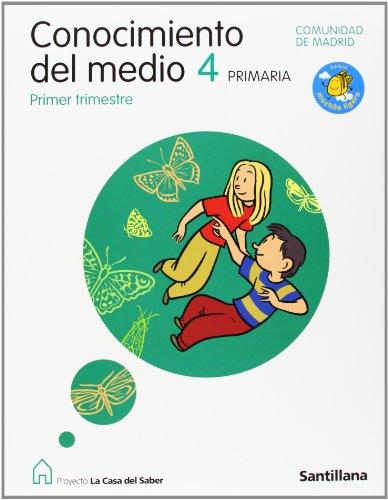 Proyecto La Casa del Saber, Serie Mochila ligera, conocimiento del medio, 4 Educación Primaria (Madrid) (Mochilas Madrid Del)