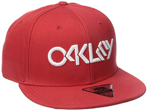 Oakley Octane Snapback Cap Red Line