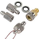Best Fittings Quick Kupplung Sockets Kupplung Starter-Set komplett-Set für für Luftgewehre,