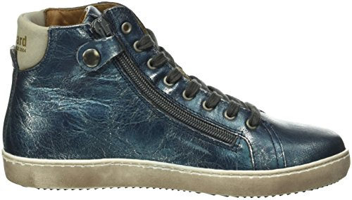 Bisgaard Shoe with lace 31807216, Unisex-Kinder Hohe Sneaker Blau (606 Blue)
