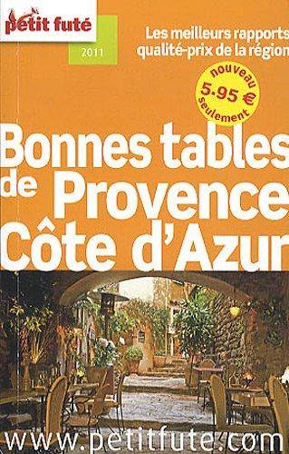 petit futé Bonnes tables de Provence Côte d'Azur
