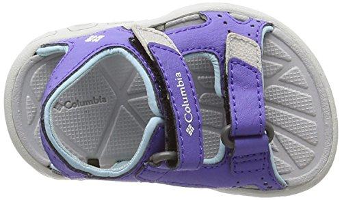 Columbia Toddler Techsun Vent, Chaussons mixte enfant Multicoloured (Purple Lotus/Sky Blue)