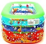 1,4 Meter Unterwasser Fantasie Säugling aufblasbaren Pool aufblasbare Designer-Babys vier unabhängige Bewegung mit Reparatursatz, Pumpe