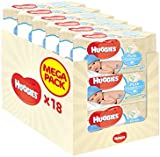 Huggies Pure Wipes - 18 Packs (1008 Wipes)
