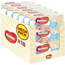 Huggies Pure Toallitas para Bebé - 18 Paquetes