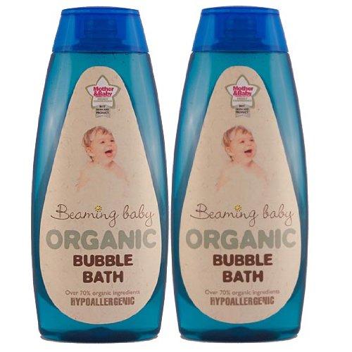 Beaming Baby Certified Organic Bubble Bath (6 x 250ml bottles)