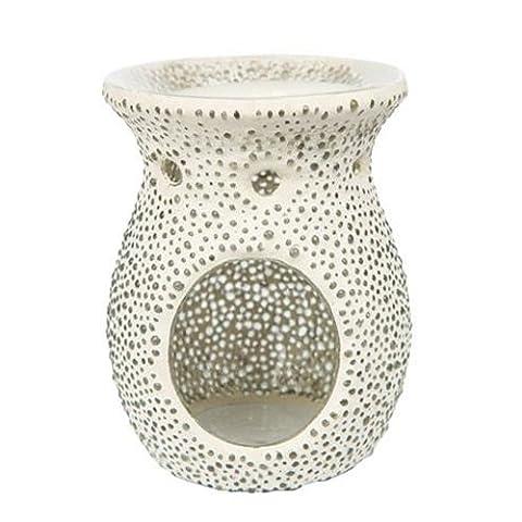 Yankee candle 1507872 Duftlampe, Glas, weiß, 11,4 x 11,3 x 14,4 cm