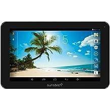 """Sunstech TAB104QC8GBBK - Tablet de 10.1"""" (WiFi, 8 GB de almacenamiento, Quad Core AllWinner A33, USB, SD) color negro"""