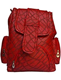 Verity Fashion Casual Purse Fashion School Leather Backpack Shoulder Bag Mini Backpack For Women's&girls PU Leather...